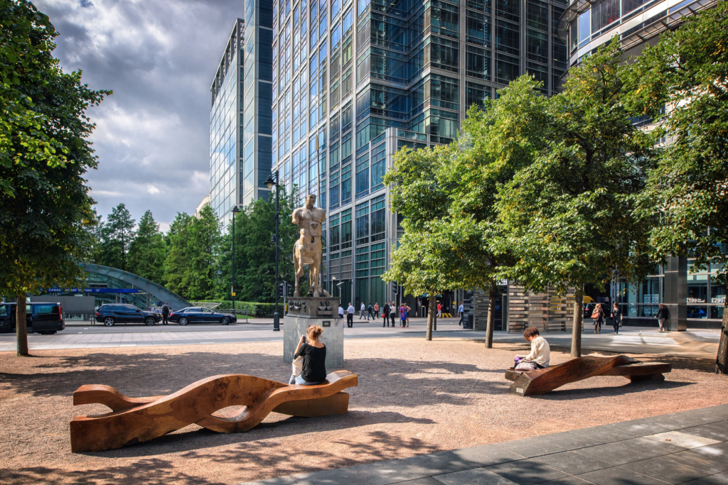 Montgomery Square, Jubilee Park & Wood Wharf